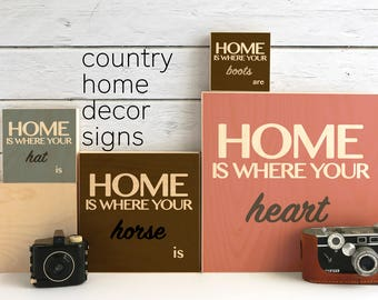 Housewarming Gift, Custom Signage, Rustic Wood Signs, Personalized Wall Sign, Custom Wood Sign, Wood Wall Decor, Gift Hostess, Gift Dad