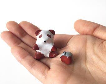 Painted Red Panda