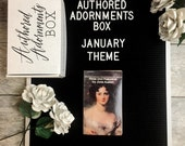 Authored Adornments Box, January Pride and Prejudice Box, Subscription Box