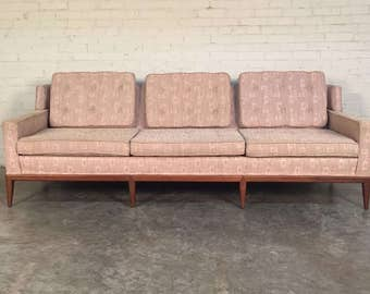 Mid-Century Modern Sofa / Couch By Hickory Chair Company / Style Of Paul McCobb - SHIPPING NOT INCLUDED