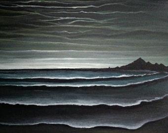 La Mer 8x10 Acrylic Painting