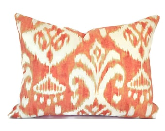 Outdoor Lumbar Pillow Cover Decorative Pillows Blue Pillow Mill Creek Outdoor Rivoli Coral