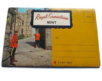 Royal Canadian Mint Souvenir Folding Postcard Pack, 1960s