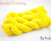 Colourful Sock mini - Yellow