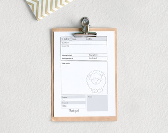 Templates Invoice Excel Etsy Order Form  Etsy Make An Invoice Free Word with How To Invoice On Paypal Excel Order Form  A Pdf File  Instant Download  Organization  Business   Planner  Po Invoices Excel