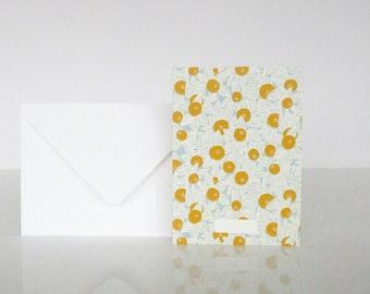 1 message Baies card - 1 carte à message Baies