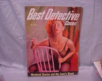 Magazine Best Detective Cases, Vol. 1 No. 2