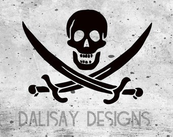 Jolly Roger Vinyl Decal