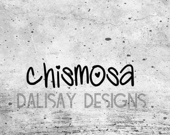 Chismosa Vinyl Decal
