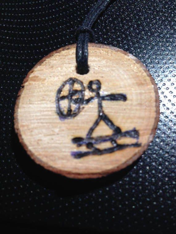 Birchwood Shaman Pendant