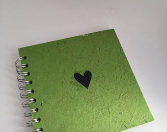 Valentines Gift  / Personalised Notebook / small journal / photo album/ scrapbook / personalised gift / stocking filler / stocki