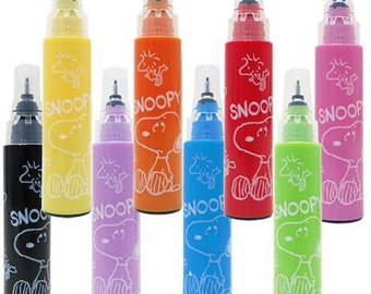 Snoopy Water-based Marker Minimum Order Total USD10.00 (shipping excluded) Required.