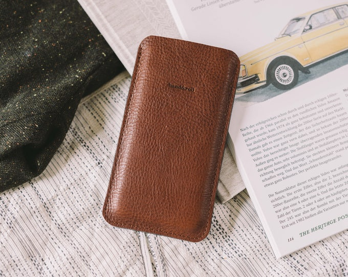 """OnePlus 3T Sleeve, OnePlus 3 Pouch, OnePlus 3T Case, leather, felt, """"Dandy"""""""