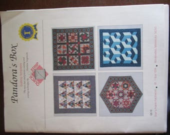 Pandora's Box Quilting Templates