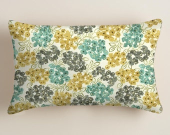 Lumbar Pillow Cover, Blue Pillow Cover Blue Decorative Pillow Home Decor, Blue Throw Pillows Blue Pillows Accent Pillows Pillow Covers
