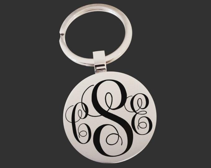 Monogram Keychain | Graduation Gift | Promotion Gift | Friend Gift | Custom Personalized Key Chain | Korena Loves