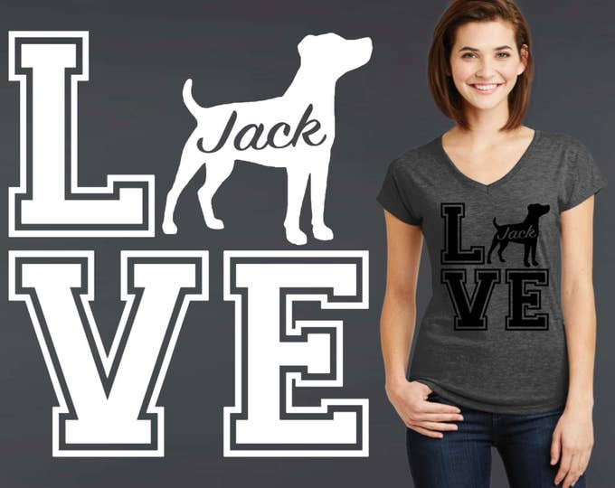 Jack Russell | Jack Russell Terrier | Dog Shirt | Dog Lover Gift | Personalized T-shirts | Korena Loves