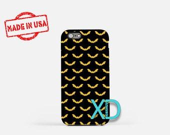 Bat Phone Case, Bat iPhone Case, Creepy iPhone 7 Case, Green, Creepy iPhone 6 Case, Bat Tough Case, Clear Case, Halloween