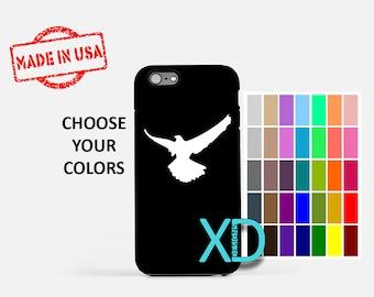 Simple Eagle iPhone Case, Bird iPhone Case, Eagle iPhone 8 Case, iPhone 6s Case, iPhone 7 Case, Phone Case, iPhone X Case, SE Case