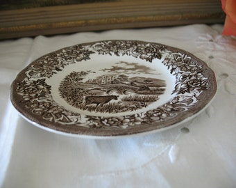 1 plate to bread or salad Royal Staffordshire Meakin England