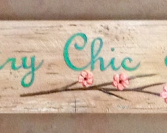 Shabby Chic Custom Signs