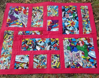 Superhero Comic Quilt