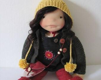 "Matilda - 18"" Waldorf inspired doll"