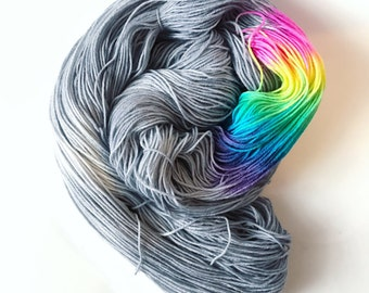 Beyond the clouds Rainbow Stripe Sock Yarn