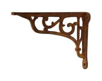 vineyard wall bracket scroll pattern rustic midcentury modern fixture cottage