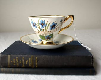 Taylor and Kent Wisconsin Teacup and Plate/Saucer Item #655