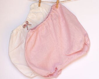 Set of 2 bloomers for baby girl