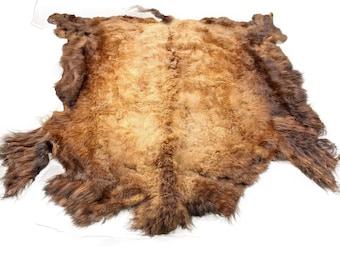 Glacier Wear Select Buffalo Bison Robe Hide Rug #0001