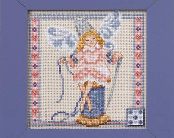 Cross Sttich Kit - Needlework Fairy/Jim Shore