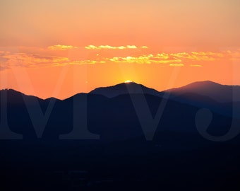 Sunset - Asheville, NC