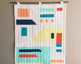 River Quilt Wallhanging #2