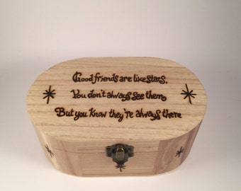 Good friends trinket box