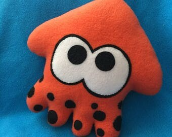 Splatoon squid plush orange