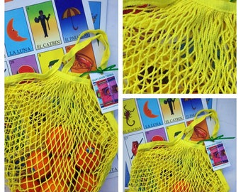 Fishnet Market Bag Purse