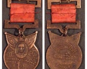 Rare Serial numbered Old china military medal rare