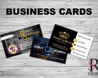 Business Cards, 100 or 250 Business Cards