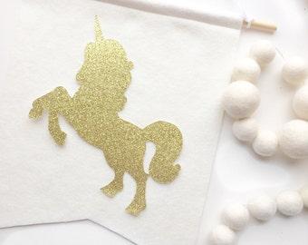 Unicorn Banner - Unicorn Birthday - Unicorn Party Decorations - Unicorn Party Decor - Unicorn 1st Birthday Party - Birthday Banner