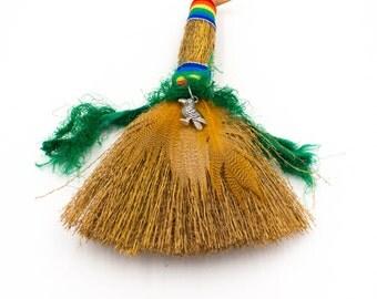Mini Besom Broom Crow Witch Broom