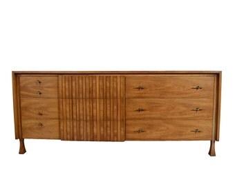John Widdicomb Long Dresser or Credenza Mid Century Modern