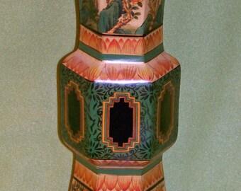 Oriental Style Decorative Urn