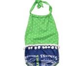 Seahawks Girl Romper Baby Kid Toddler Summer Outfit Top Onesie