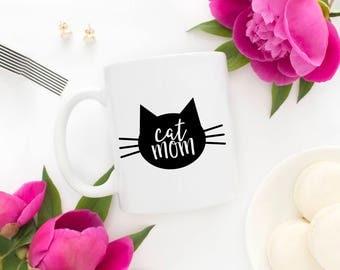 Mother' Day Gift - Cat Lady Mug - Cat Mom Mug - Cat Lover Gift - Crazy Cat Lady Mug