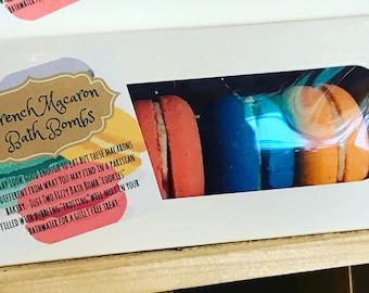 Macaron Bath Bombs
