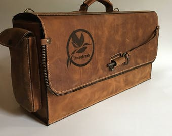 FREE SHIPPING! Bartender Briefcase, Padded bartender bag, Barman Bag,