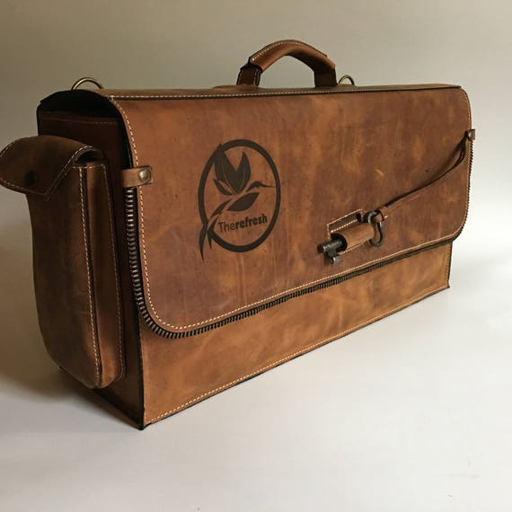 Bartender Briefcase, Padded bartender bag, Barman Bag,