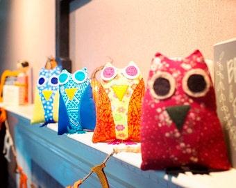 Owl Plushie: Refugee-Made